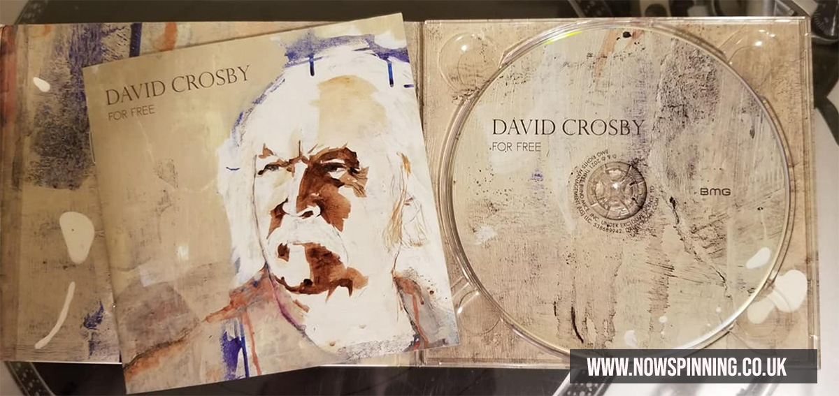 David Crosby For Free CD Review