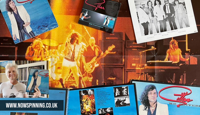Gillan Mr Universe - The Album, The Tour, T- Shirt and CD Remaster