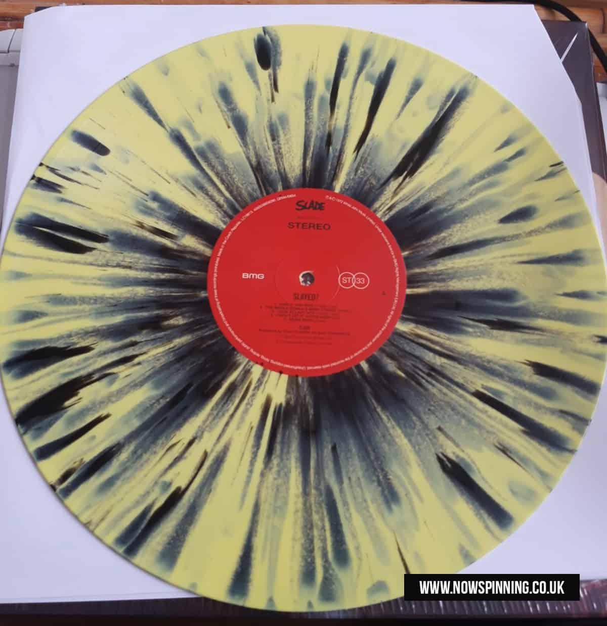Slayed Splatter Vinyl