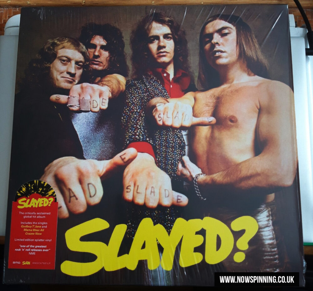 Slade Slayed Splatter vinyl review