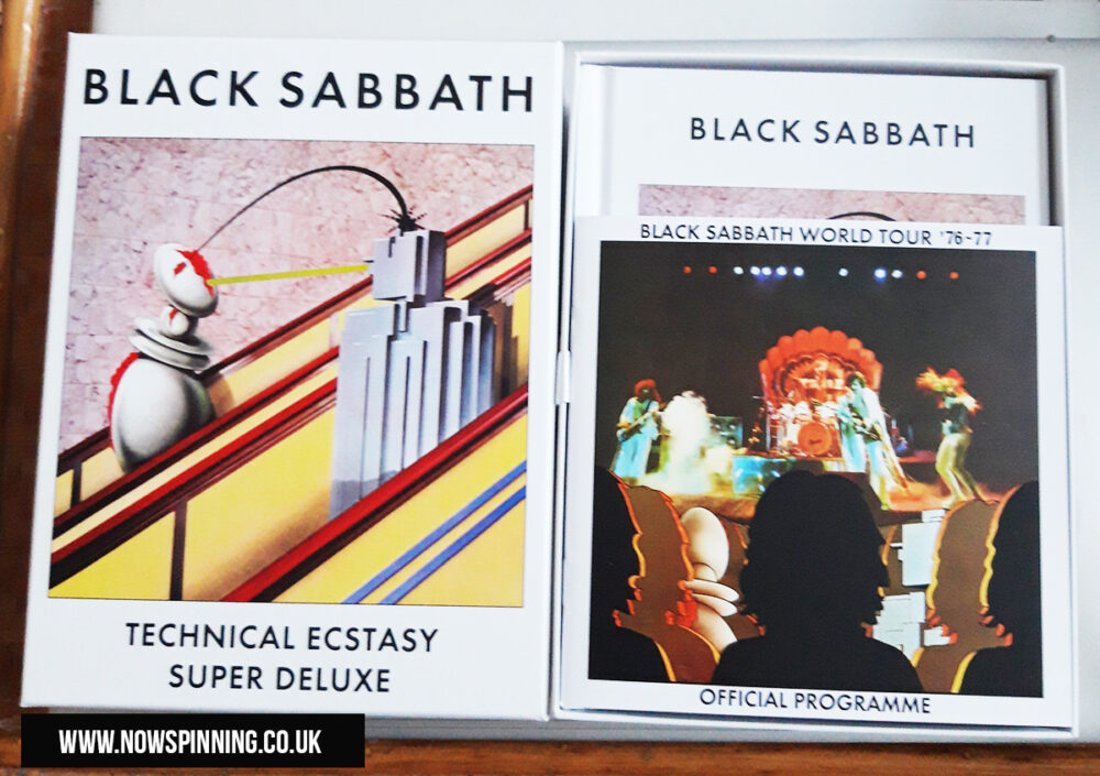 Black Sabbath Technical Ecstasy 4CD Box Set Review