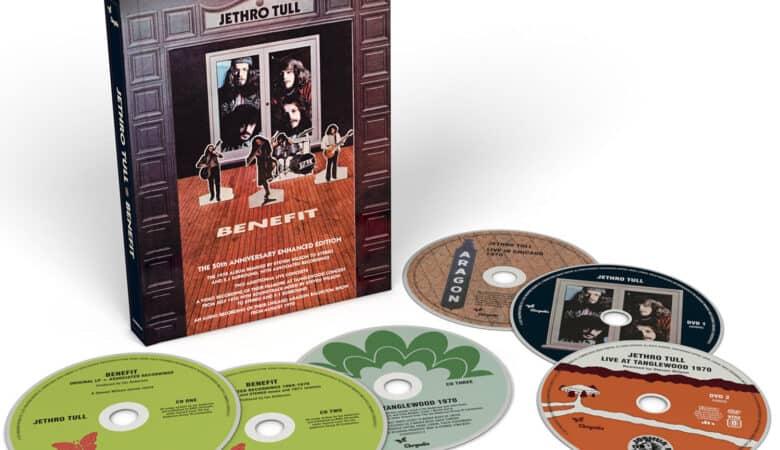 Jethro Tull / Benefit 50th anniversary reissue 4CD 2 DVD Deluxe Box Set
