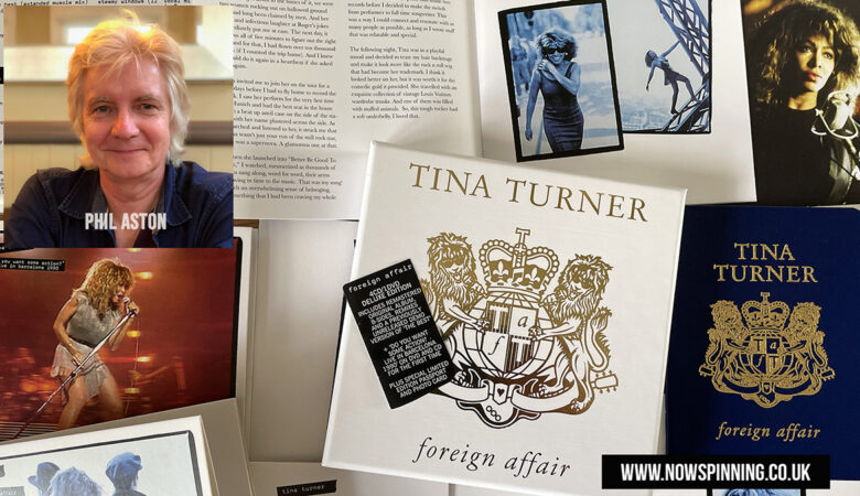 Tina Turner Foreign Affair 4CD / DVD Deluxe Edition - Unboxing and Review