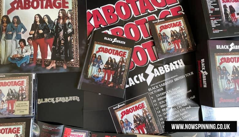 Black Sabbath Sabotage Super Deluxe Edition Vs Vinyl