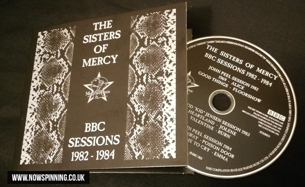 The Sisters of Mercy - BBC Sessions 1982-1984 (BBC/Warners 2021)