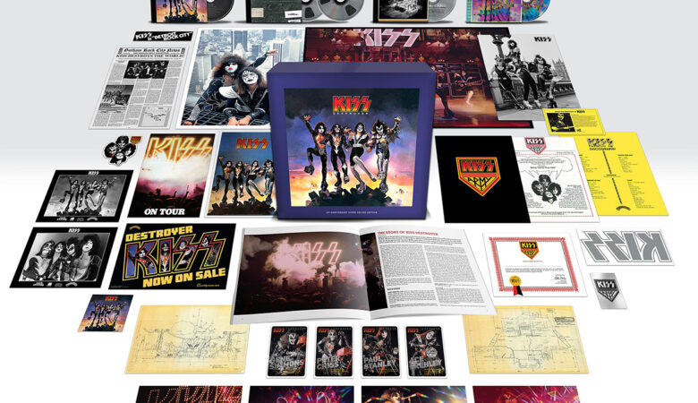 Kiss Destroyer Super Deluxe Edition Steven Wilson Mix